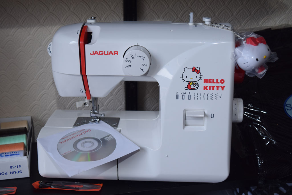 LRM Sewing Machines Delectable Hello Kitty Sewing Machine Uk